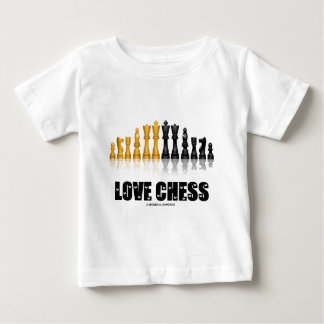 Love Chess Baby T-Shirt