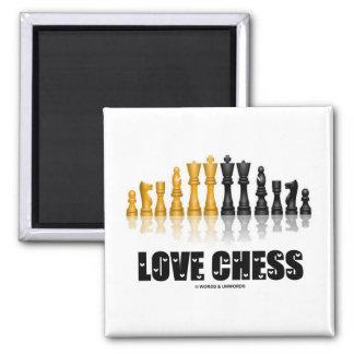Love Chess Fridge Magnet