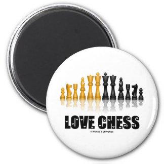 Love Chess Fridge Magnets