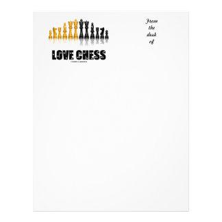 Love Chess Reflective Chess Set Love Letters Font Letterhead