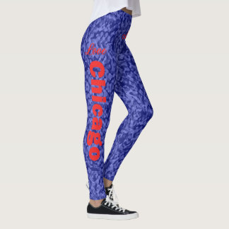 Love Chicago Baseball Leggings