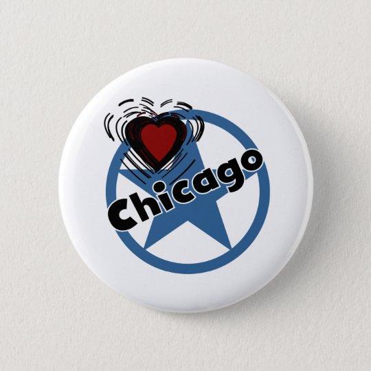 Love Chicago Button