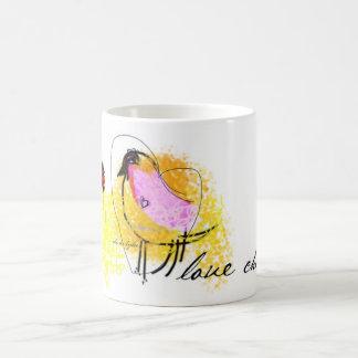 """Love Chick"" White 11oz Classic Mug"