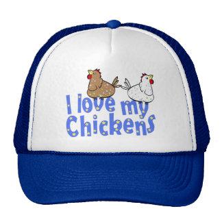Love Chickens - Cap Trucker Hat