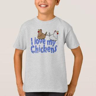Love Chickens Childrens T-shirt