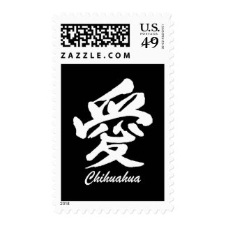 Love Chihuahua Postage Stamps