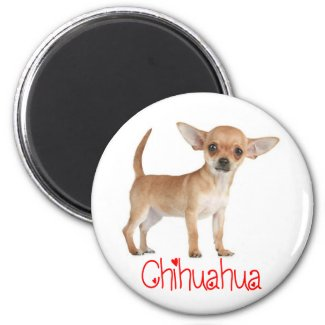 Love Chihuahua Puppy Dog Fridge Magnet