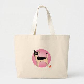 Love Chihuahua Tote Bag