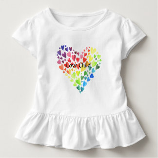 Love Child Girls Ruffled Tee Shirt