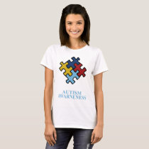 Love Children Therapy Cancer Art Autism Awareness T-Shirt