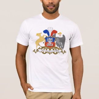 LOVE CHILE Coat Of Arms T-Shirt