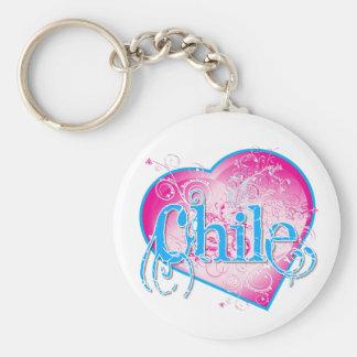 LOVE Chile !!! Keychain