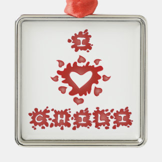 Love Chili Ornament