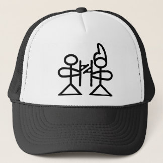 Love, Chinese hieroglyph(Dongba) Trucker Hat