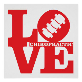 LOVE Chiropractic Square Poster