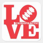LOVE Chiropractic Stickers