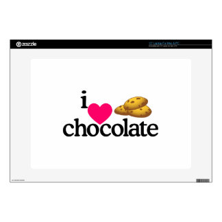 Love Chocolate Cookies Decals For Laptops