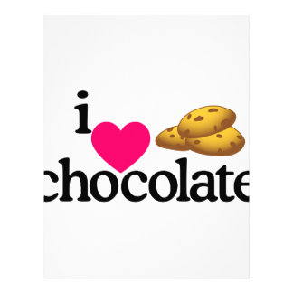 Love Chocolate Cookies Letterhead