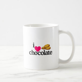 Love Chocolate Cookies Classic White Coffee Mug