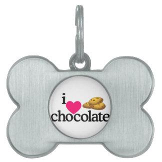 Love Chocolate Cookies Pet ID Tag