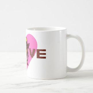 love chocolate coffee mug