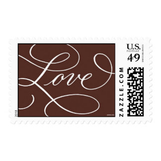 Love . Chocolate Postage