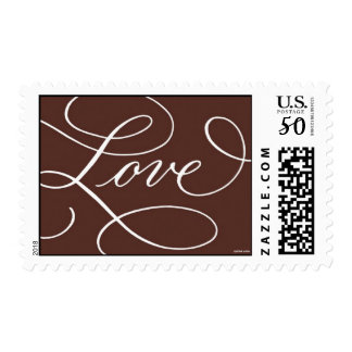 Love . Chocolate Postage