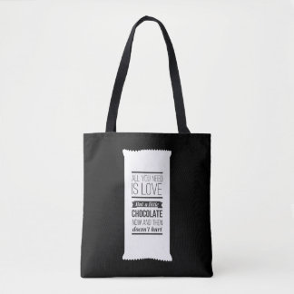 Love Chocolate Tote Bag