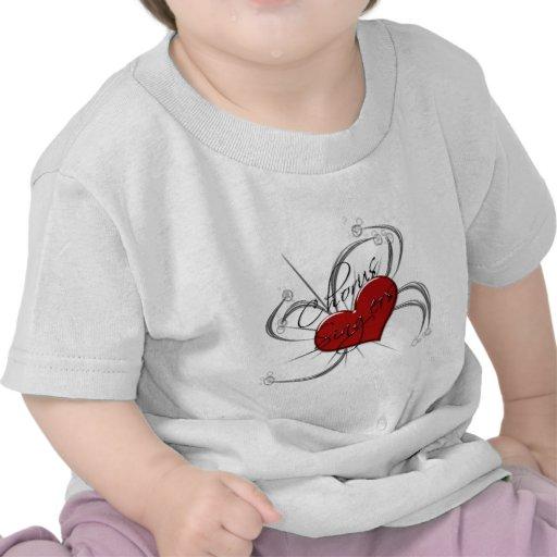 Love Chorus Singers Heart Shirts