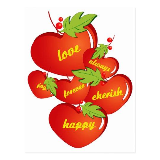 Love Christmas Love Postcard