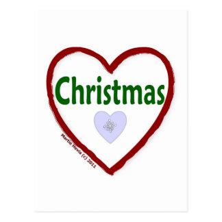 Love Christmas Post Card