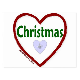Love Christmas Postcards