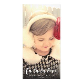 Love Christmas Script Photo Overlay Card