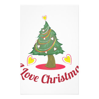 Love Christmas Stationery