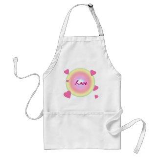 Love Circle apron