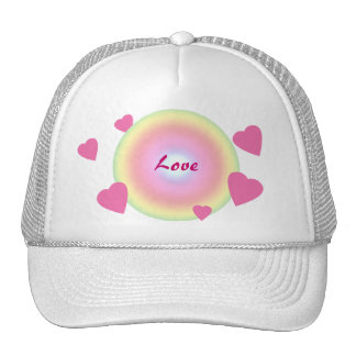 Love Circle Trucker Hat