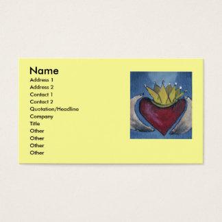 Love Claddagh Business Cards