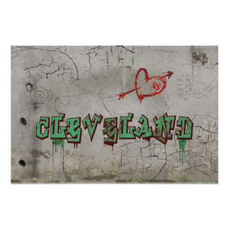 Love Cleveland Poster