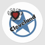 Love Cleveland Stickers