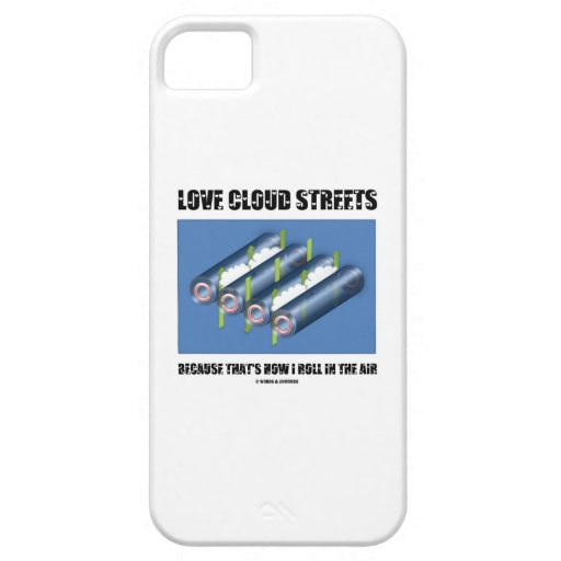 Love Cloud Streets Because That's How I Roll Air iPhone 5/5S Covers