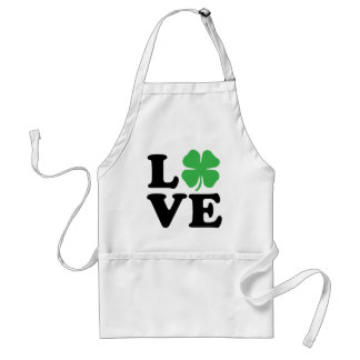 Love Clover Adult Apron