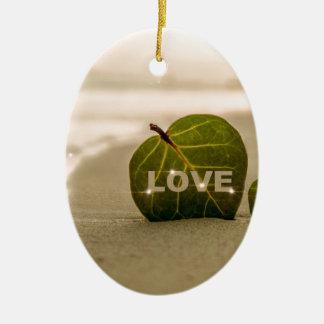 Love Coast Loving Ceramic Ornament