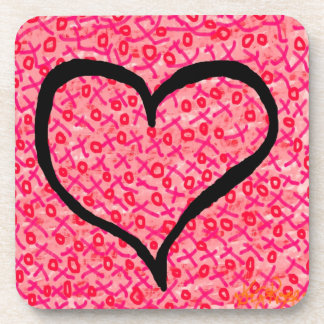 """Love"" coaster by DesignbyKrizRogers"