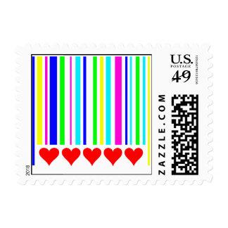 Love Code Stamp