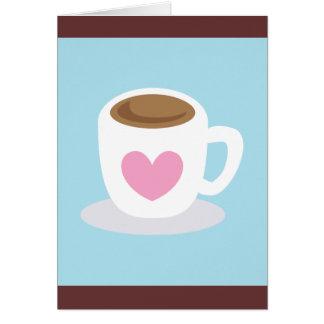 LOVE COFFEE CARD