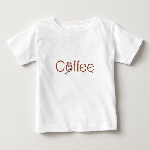 Love Coffee Heart Kids Baby T-Shirt