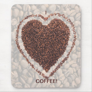 Love Coffee Mouse Pad