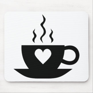 Love Coffee Mouse Mats