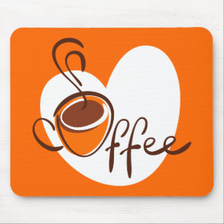 Love Coffee Mouse Pad