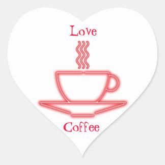 Love Coffee stickers